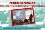 CORSO Parlare in pubblico